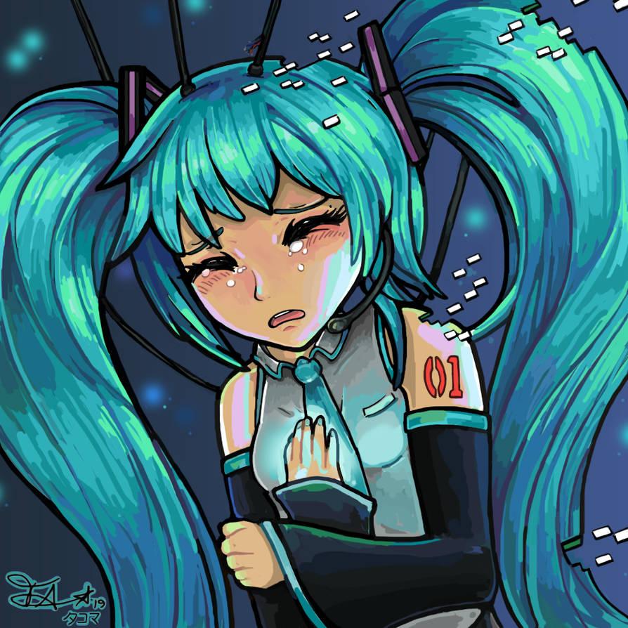 Hatsune Miku - Despair by tacoma29