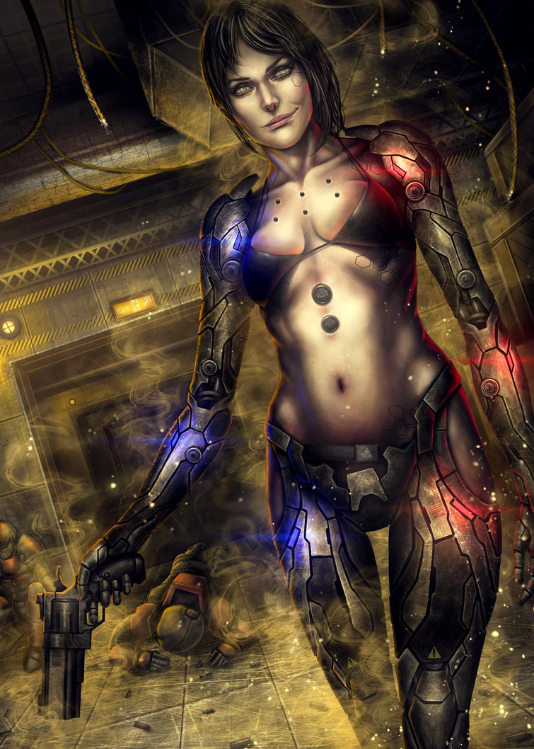Deus Ex: Human Revolution Fanart by tekkoontan