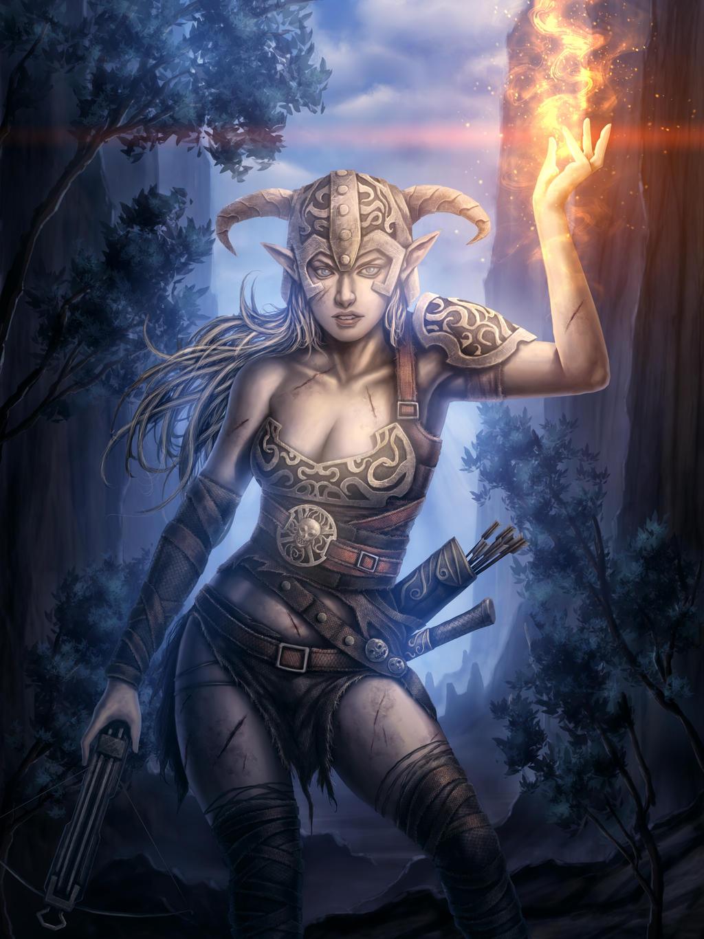 The Elder Scrolls V Skyrim Fanart By Tekkoontan On Deviantart