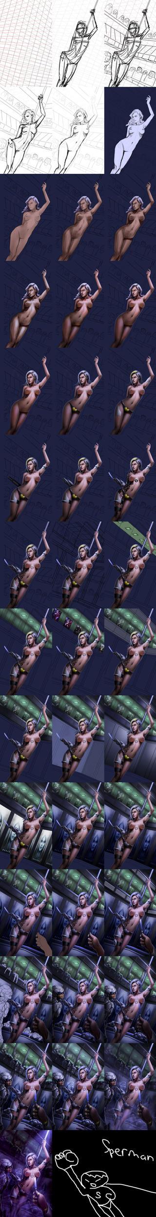 Stripper Process by tekkoontan