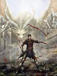 Dragon Age Fanart by tekkoontan