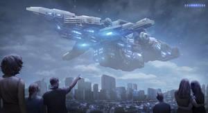 Shadowtide: Massive Alien Ship
