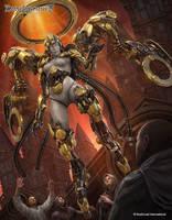 Dragoborne: Chromegear Liberator by tekkoontan