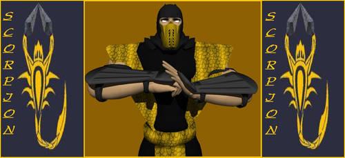 Scorpion Shirai Ryu Render