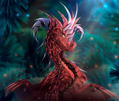 Red attraction by TellerySpyro