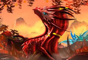 Preparing to the Full Veerima (Halloween 2021) by TellerySpyro