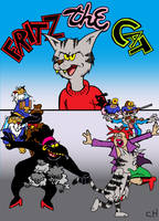 Fritz The Cat Soundtrack Cover by Chopfe