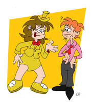 Candy And J Leslie Carmicheal by Chopfe