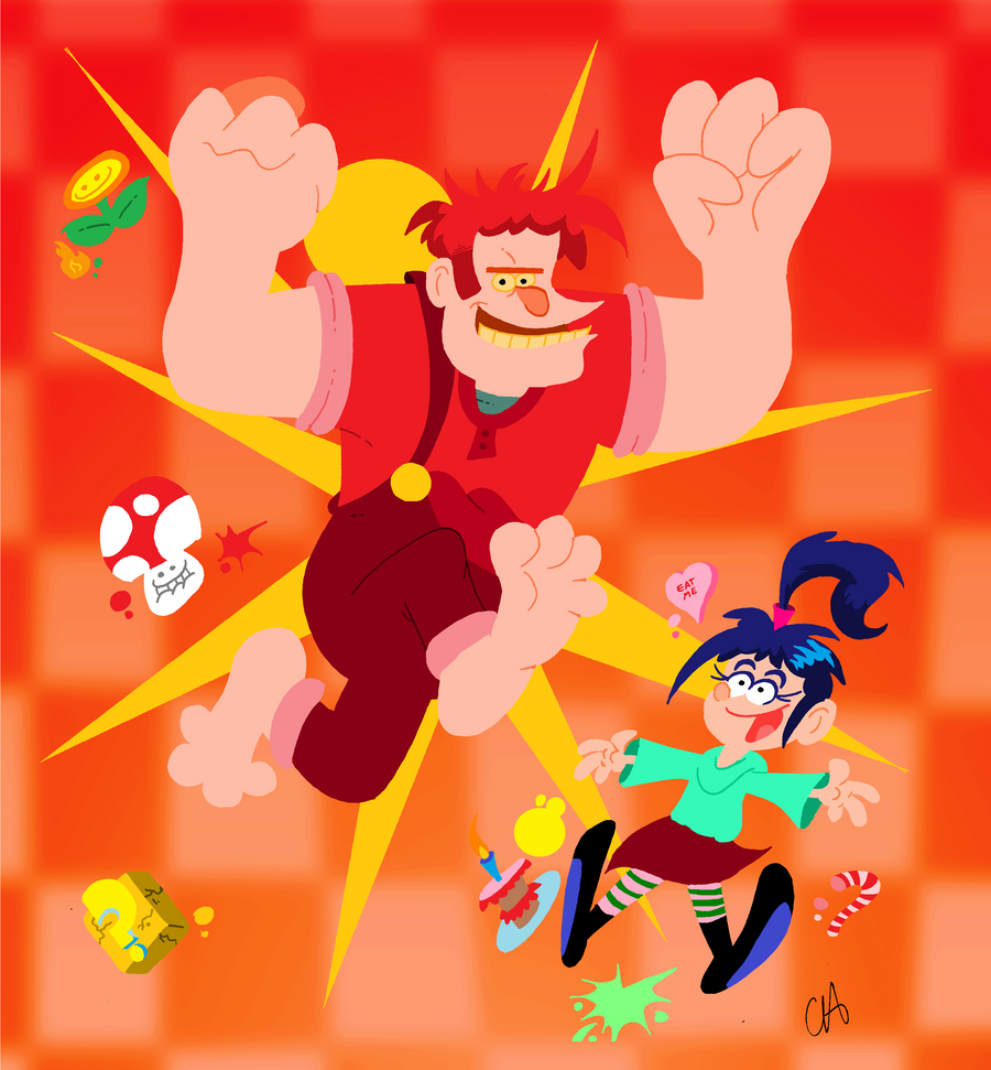 Wreck It Ralph by Chopfe