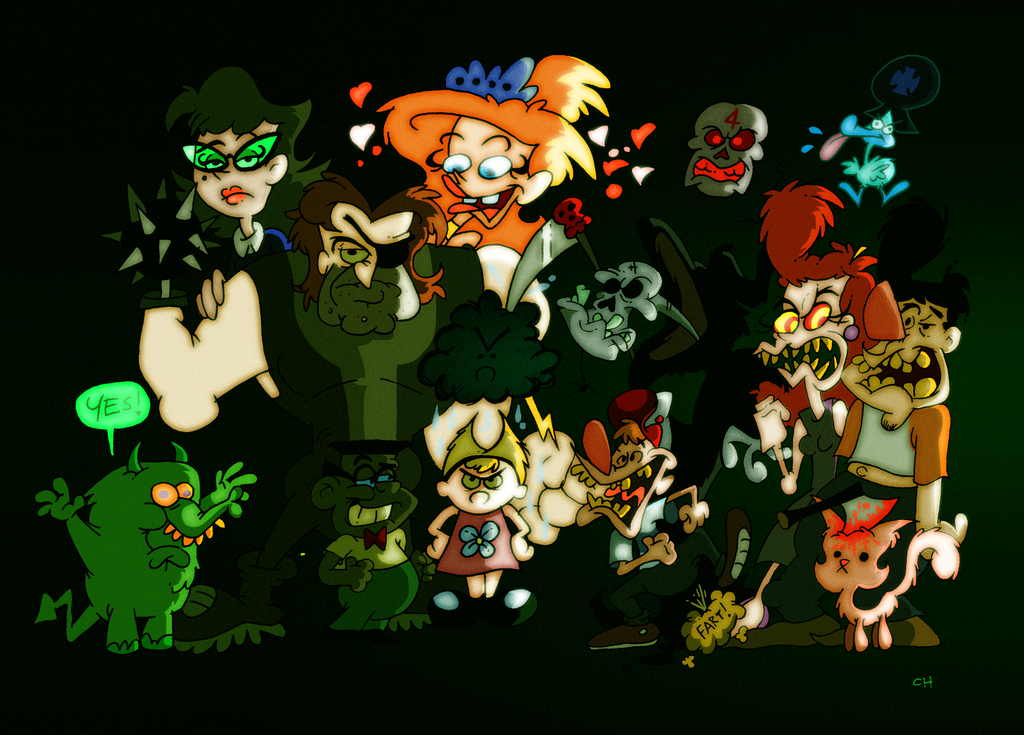 the grim adventures of billy and mandy by chopfe on deviantart