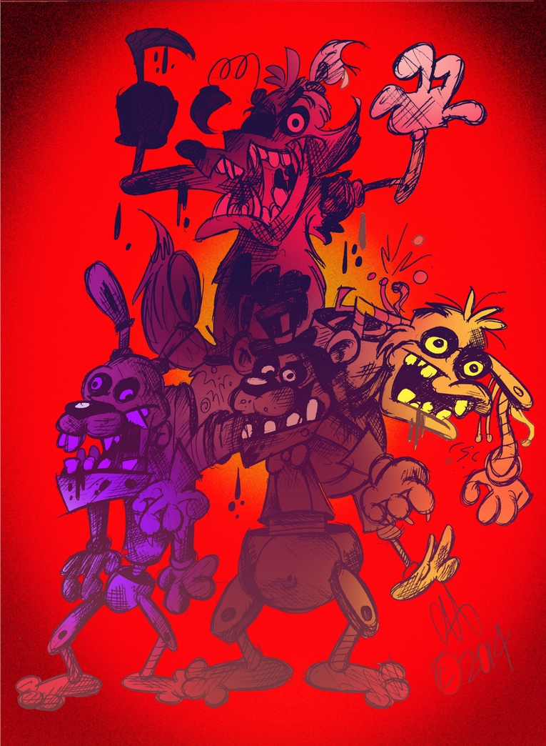 Five Nights At Freddy's by Chopfe