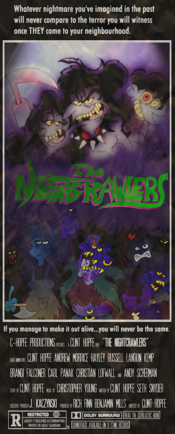 The Nightcrawlers Movie Poster by Chopfe