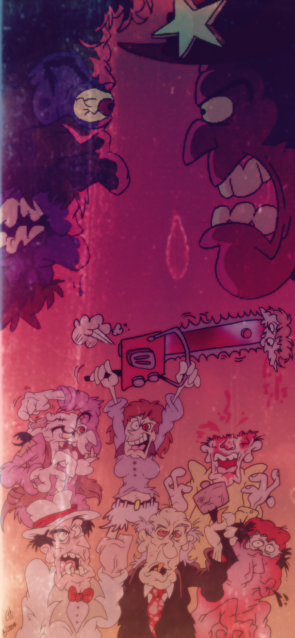 The Texas Chainsaw Massacre 2 by Chopfe