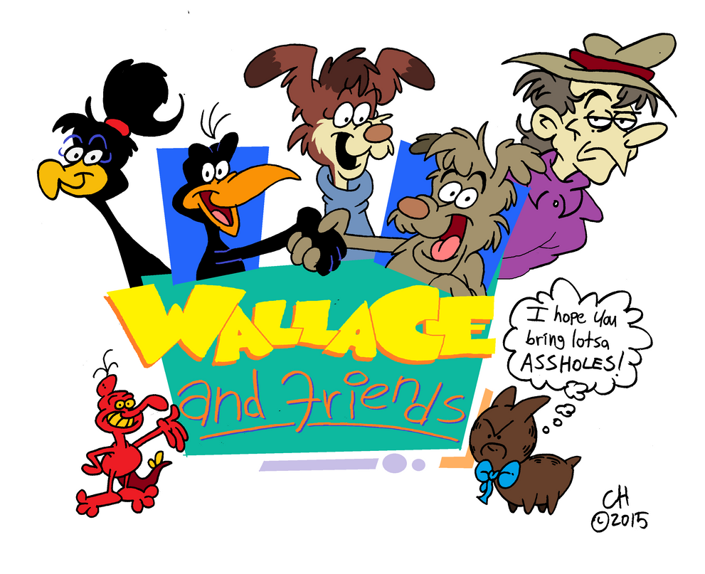 Wallace And Friends by Chopfe