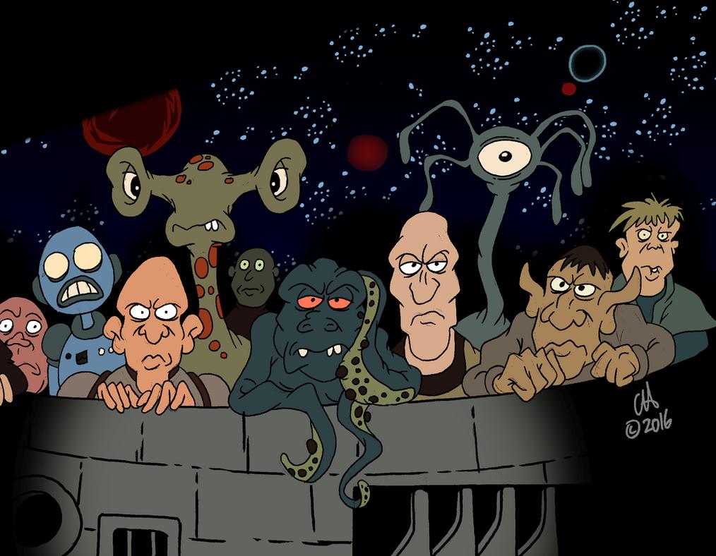 Heavy metal movie cartoon