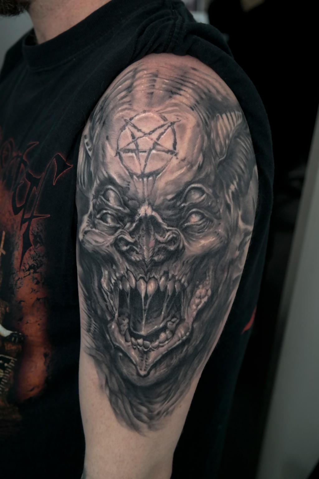 Значение тату демоны и фото