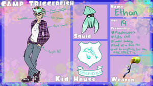Semi-NPC | Camp Triggerfish - Ethan by trynxx