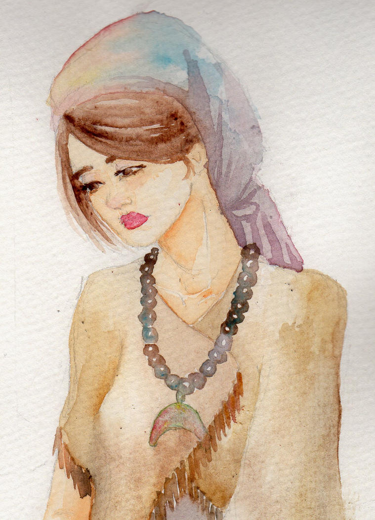 Indie Lady by Plumisful