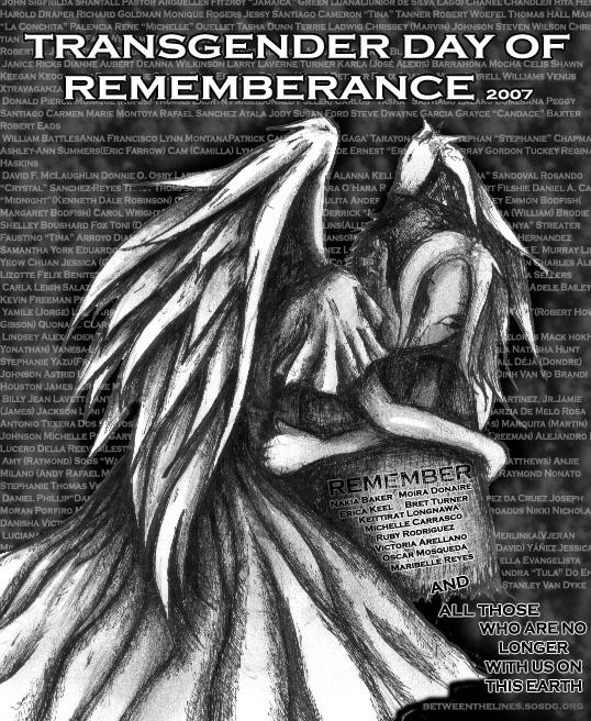 Transgender Day of Remembrance by Mekari