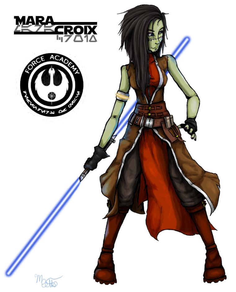 Jedi Consular Mara Croix by Mekari