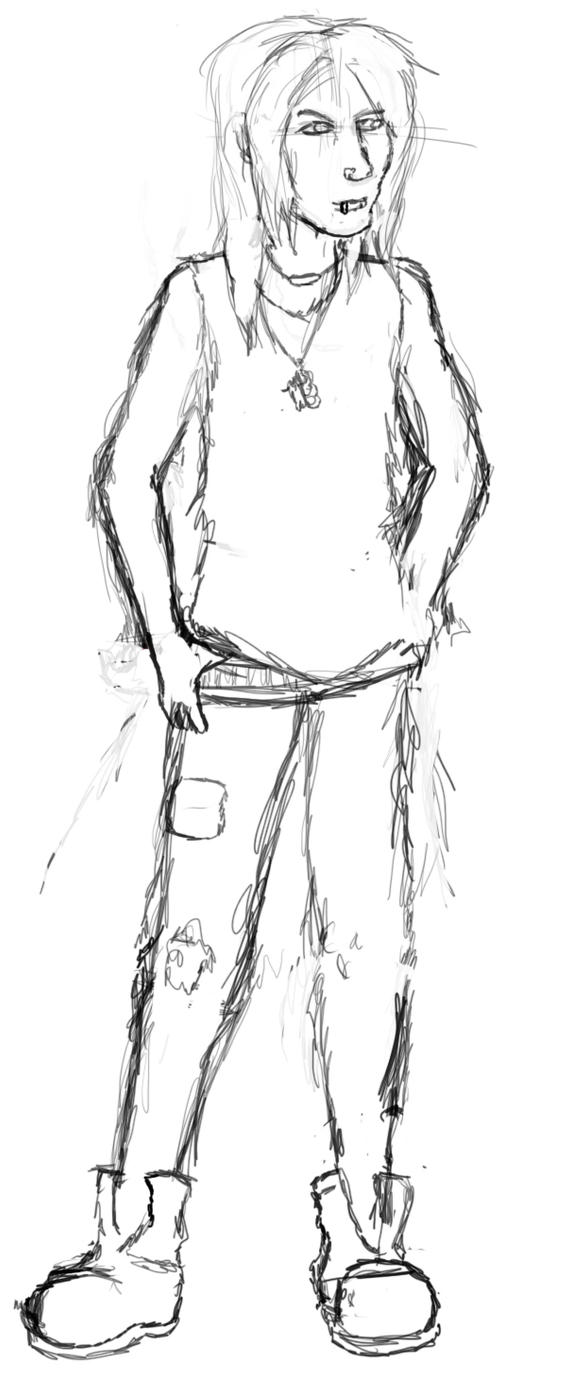 Mike! Sketch by Mekari