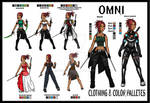 OMNI- Clothing and Color Palletes