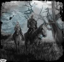 Geralt and Ciri