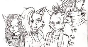 Locos gang sketch