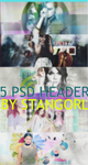 5 PSD HEADER PACK (CLOSED)