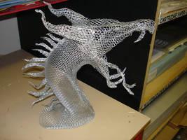 Wire Dragon by cazzyx3