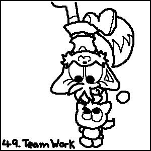 49. Team Work by cazzyx3