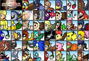 Super Smash Bro: Brawl by cazzyx3