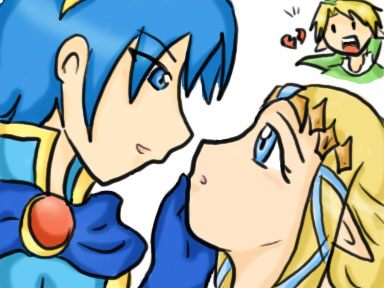 Marth x Zelda by SparxPunx
