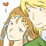 Zelda x Link.