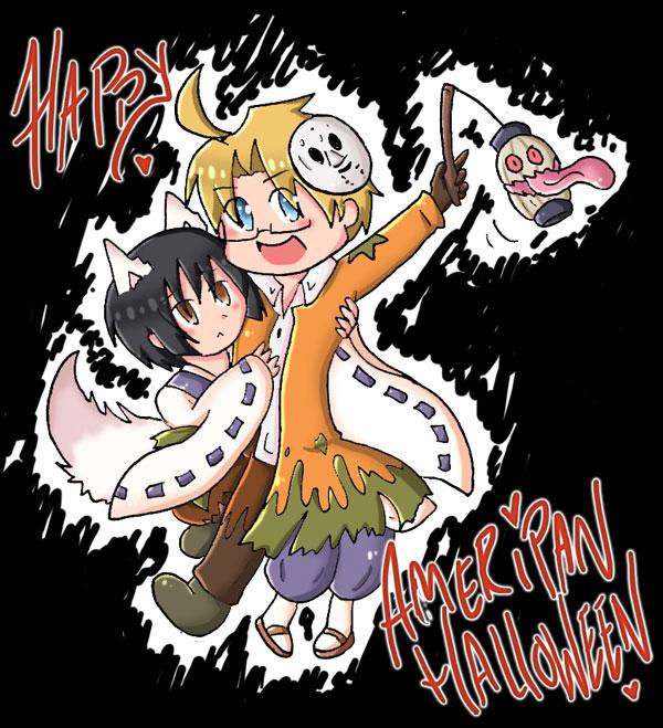 Happy Ameripan Halloween by SparxPunx on DeviantArt