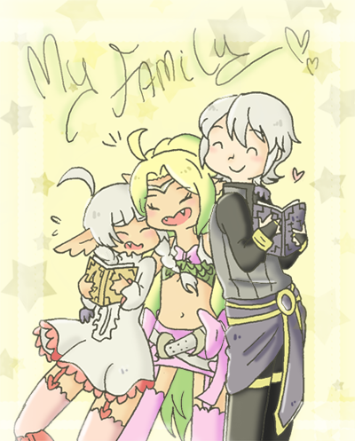 Nowi's Family by SparxPunx