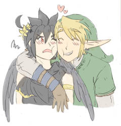 Link x Pittoo by SparxPunx