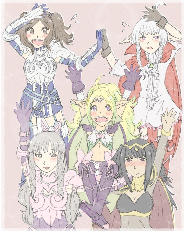Fave FE awakening : girls by SparxPunx