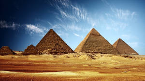 Pyramids Wallpaper