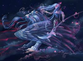 Star wanderer by Grey-Seagull