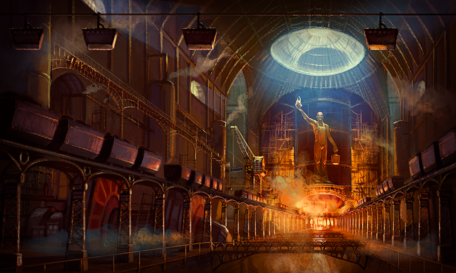 Steam Cathedrale by fab68