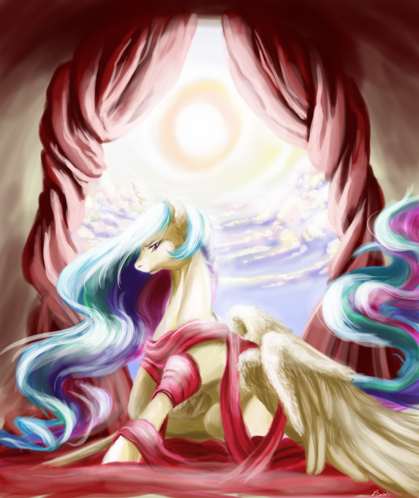 Celestia Side by bunnish