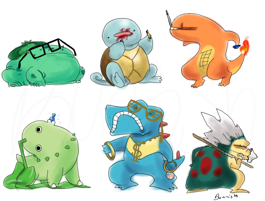 Pokemon Avatar Set By Bunnish