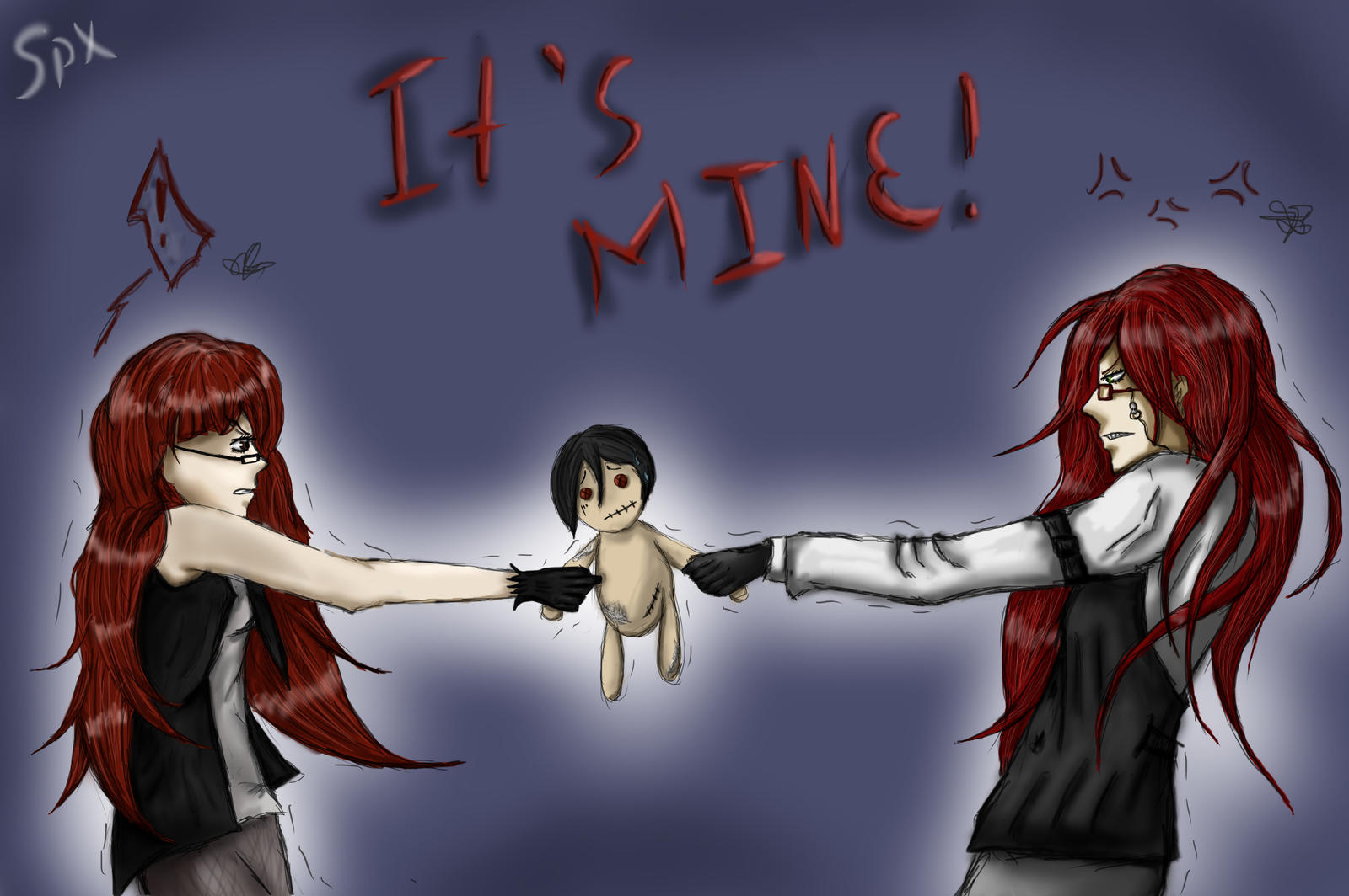 Me and Grell by SpacePhoenix