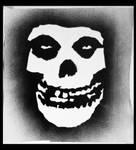 Misfits Fiend Skull graffiti
