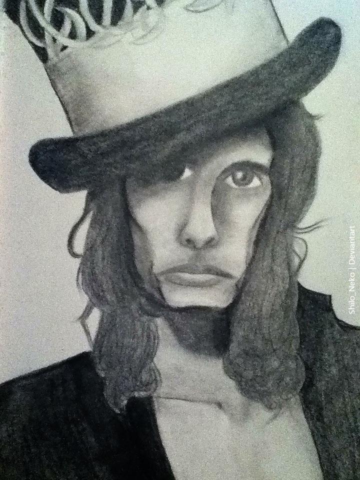 Steven Tyler by Shilo-Neko