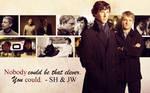 BBC Sherlock Wallpaper - John/Sherlock