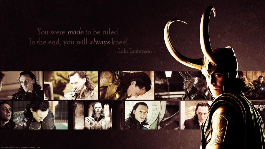 Avengers Wallpaper Set - Loki by Sidhrat