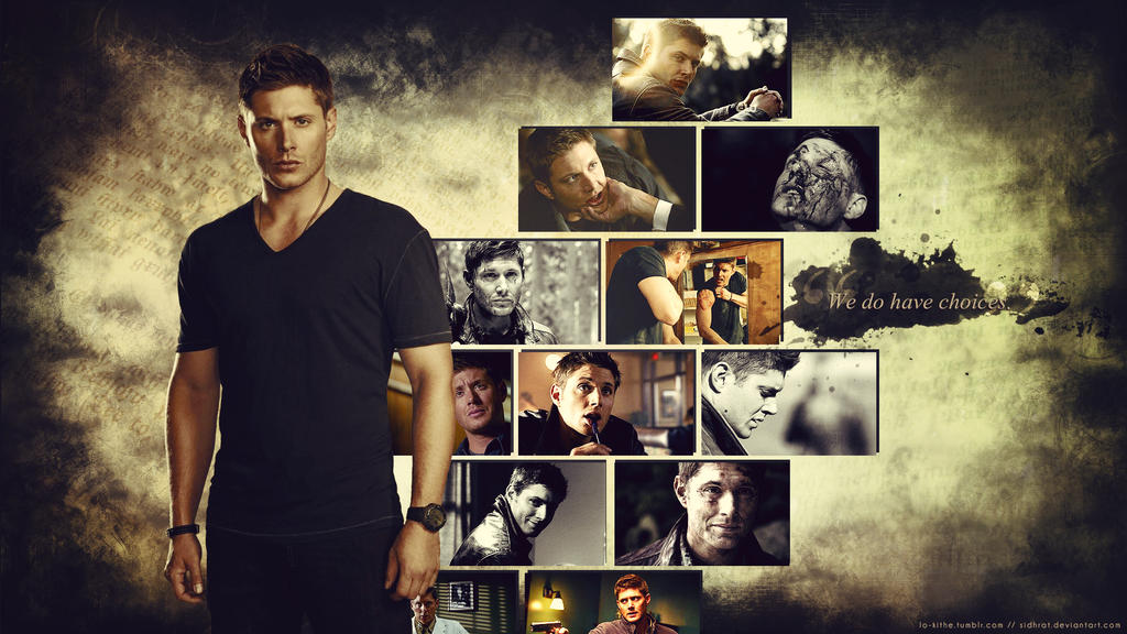 Supernatural Wallpaper - Dean Winchester by Sidhrat on ...