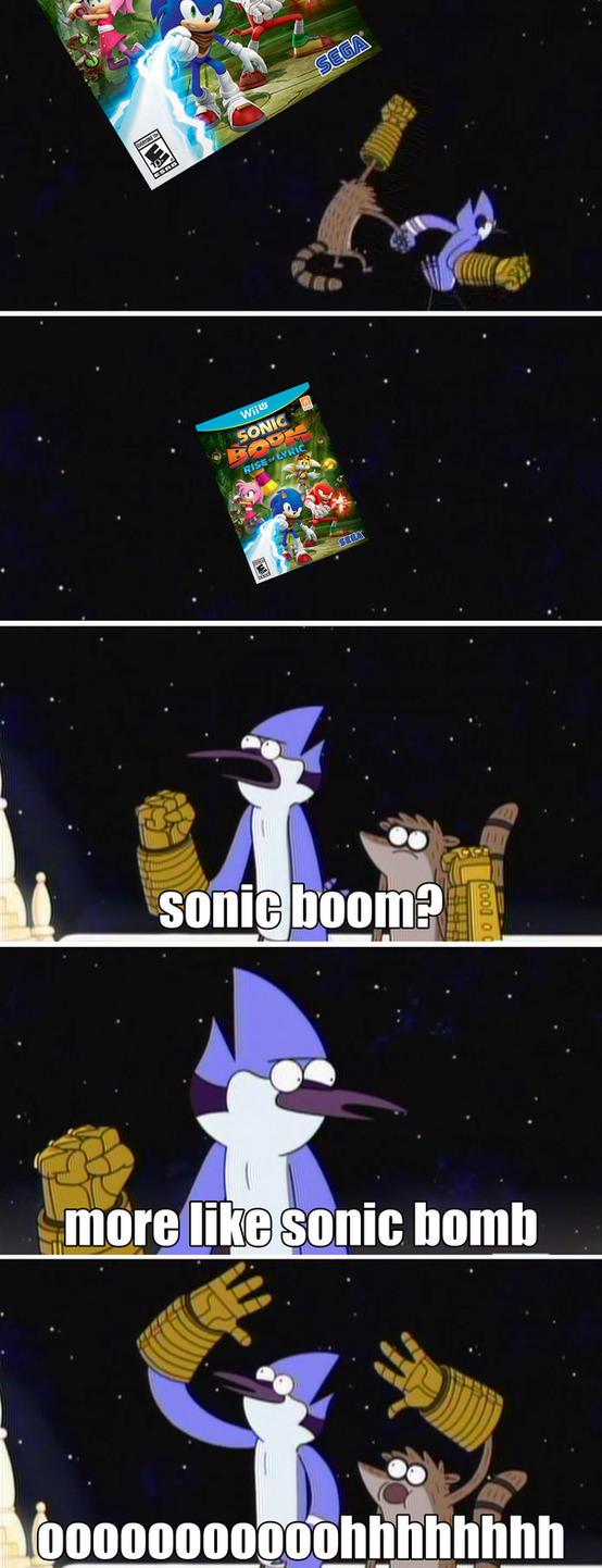 sonic boom meme by DOR20